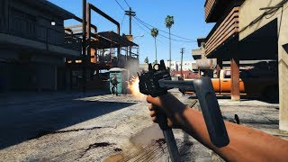 GTA 5 - Cinematic First Person Action Kills - Physics/Gore Mod - PC