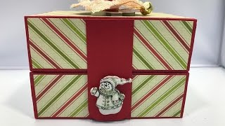 Christmas Gift Box Tutorial