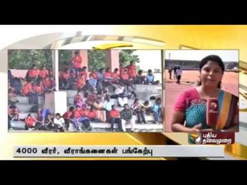 State level Junior Athletic meet in Coimbatore