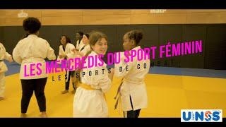 """Les mercredis du sport féminin UNSS CRETEIL & ADIDAS """"She Breaks Barriers"""" : Les sports de COMBAT"""