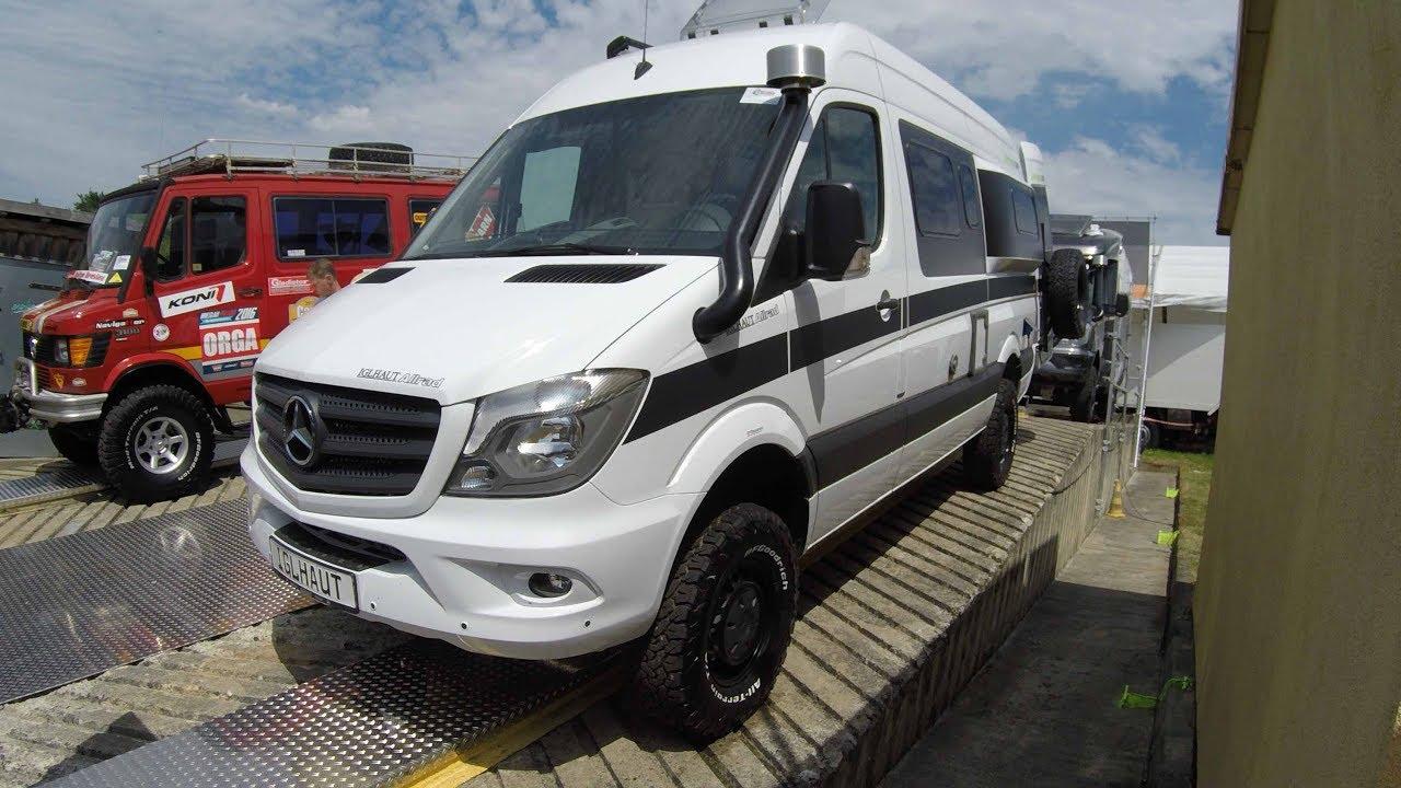 Mercedes Sprinter 4X4 >> MERCEDES SPRINTER 316 CDI IGLHAUT ALLRAD GRAND CANYON S ...