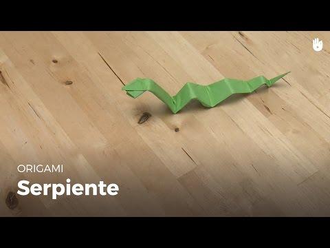 Hacer una serpiente de papel | Origami