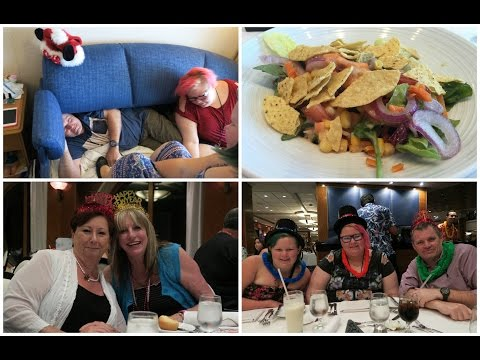 New Years Eve at Sea - Cruise Day 8