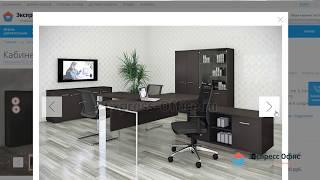 Обзор кабинета Fermo в стиле хай-тек для современных директоров