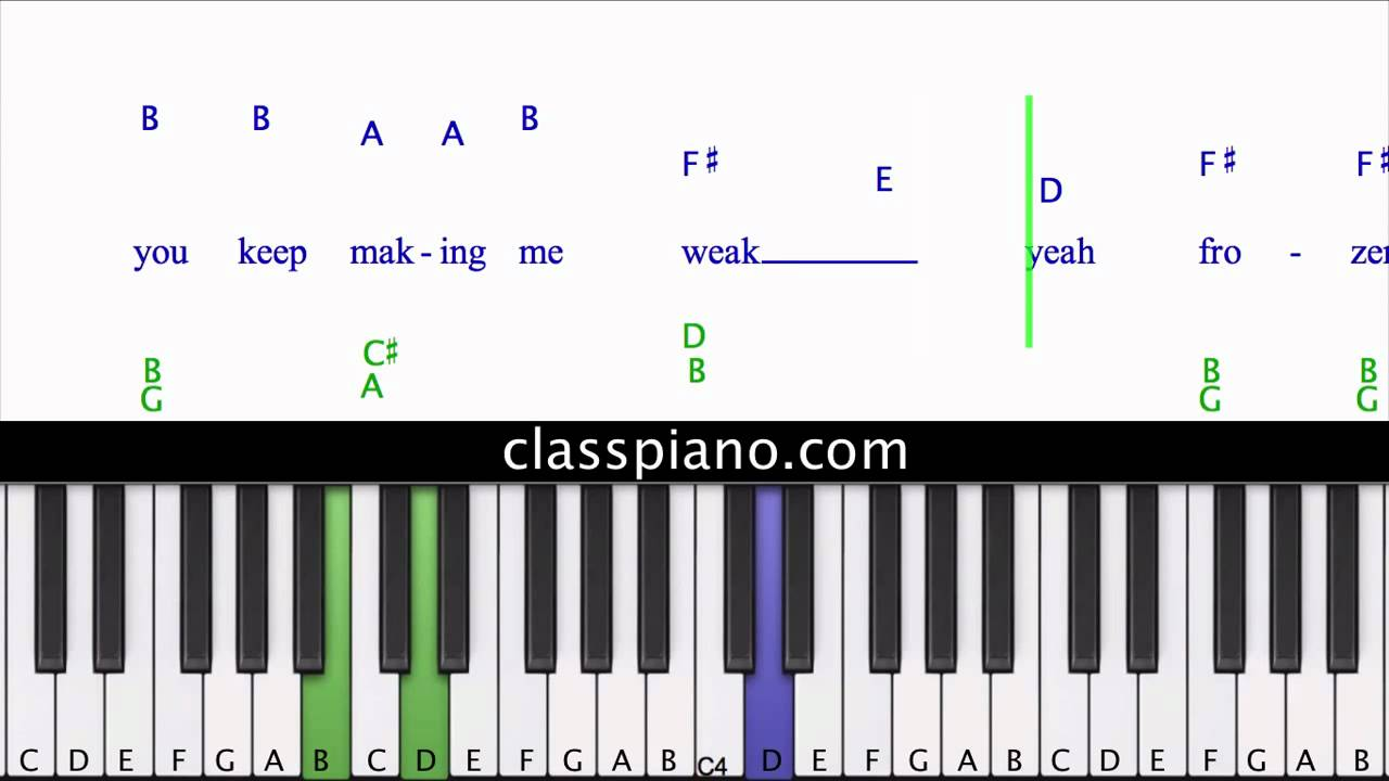 One thing piano lesson one direction youtube one thing piano lesson one direction hexwebz Images