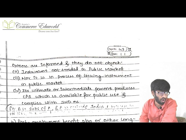 CA Final FR New Course Ind AS 110 Consolidation (Fast Track) by CA Vinesh Savla