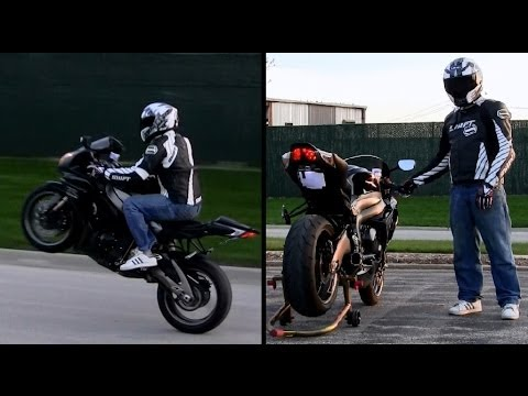 GSXR 1000 Two Brothers Full Exhaust Sound Test: Engine Start & Revving +  Gixxer Wheelies - Full HD