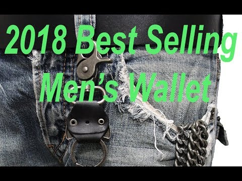 2018 Most Popular Chain Wallet For Men