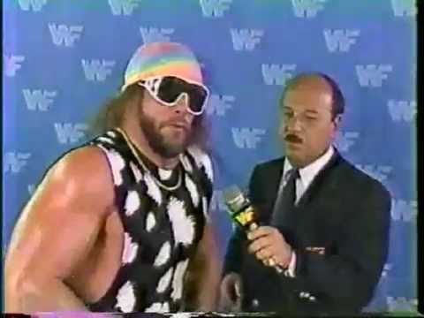 macho man interview