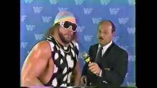 Macho Man Randy Savage Interview 07 18 1987