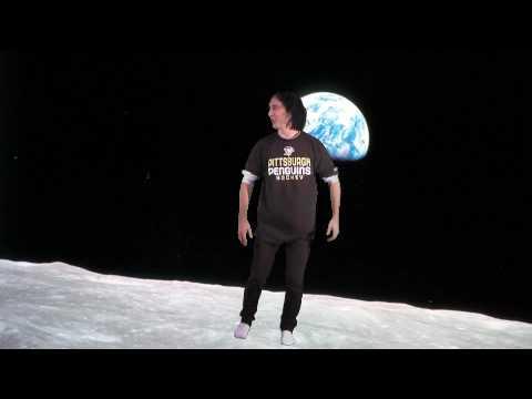 On the moon (Green Screen) thumbnail