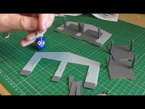 Gaugemaster GM406 Fordhampton Locomotive Depot Plastic Kit Part 2