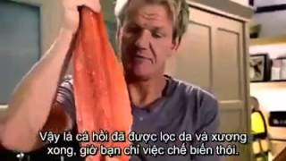 Học những mẹo nấu ăn của vua đầu bếp Gorden Ramsay