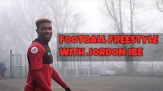 FOOTBALL FREESTYLE WITH JORDON IBE