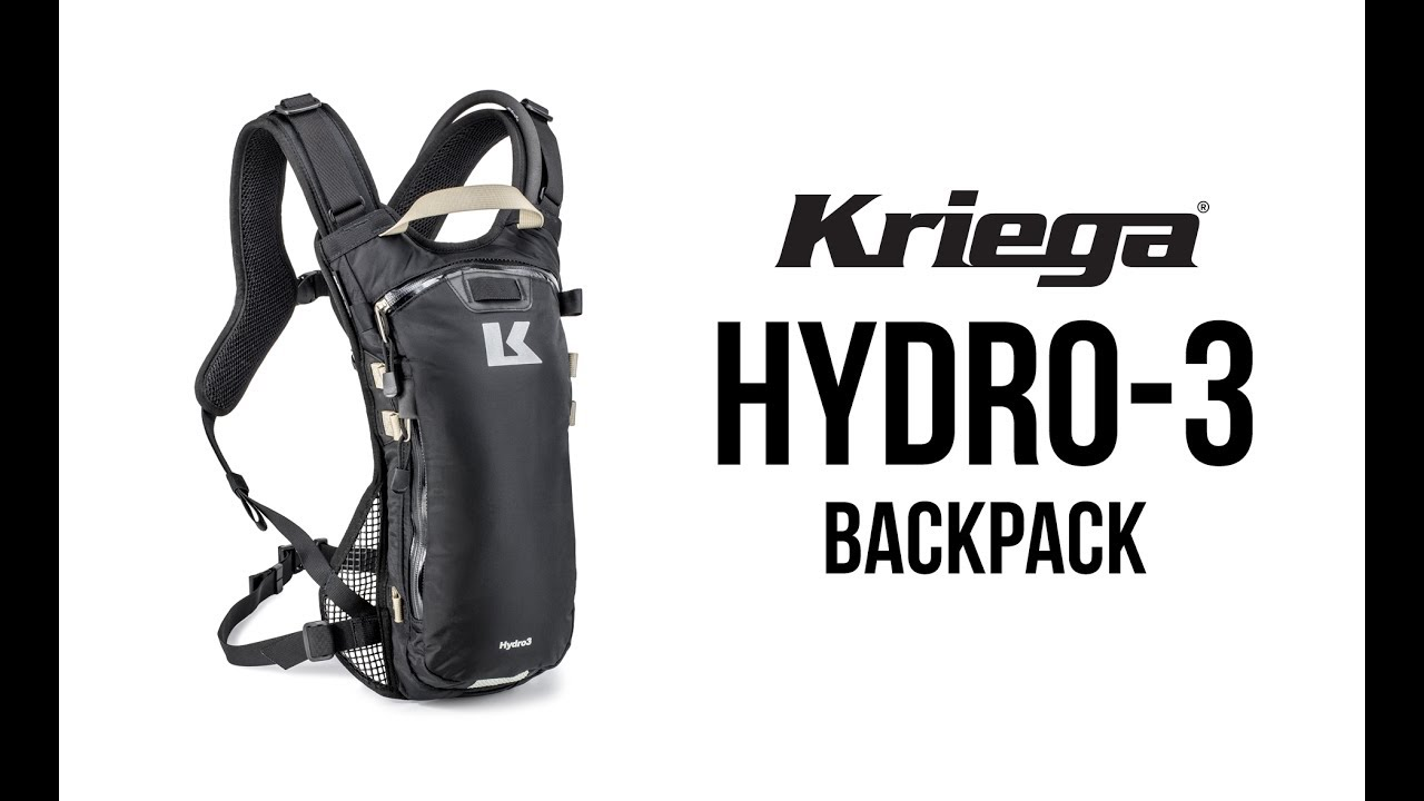 cfba10b268c KRIEGA HYDRO-3 BACKPACK - YouTube