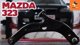 Sådan udskifter du bærearm foran på MAZDA 323 GUIDE | AUTODOC