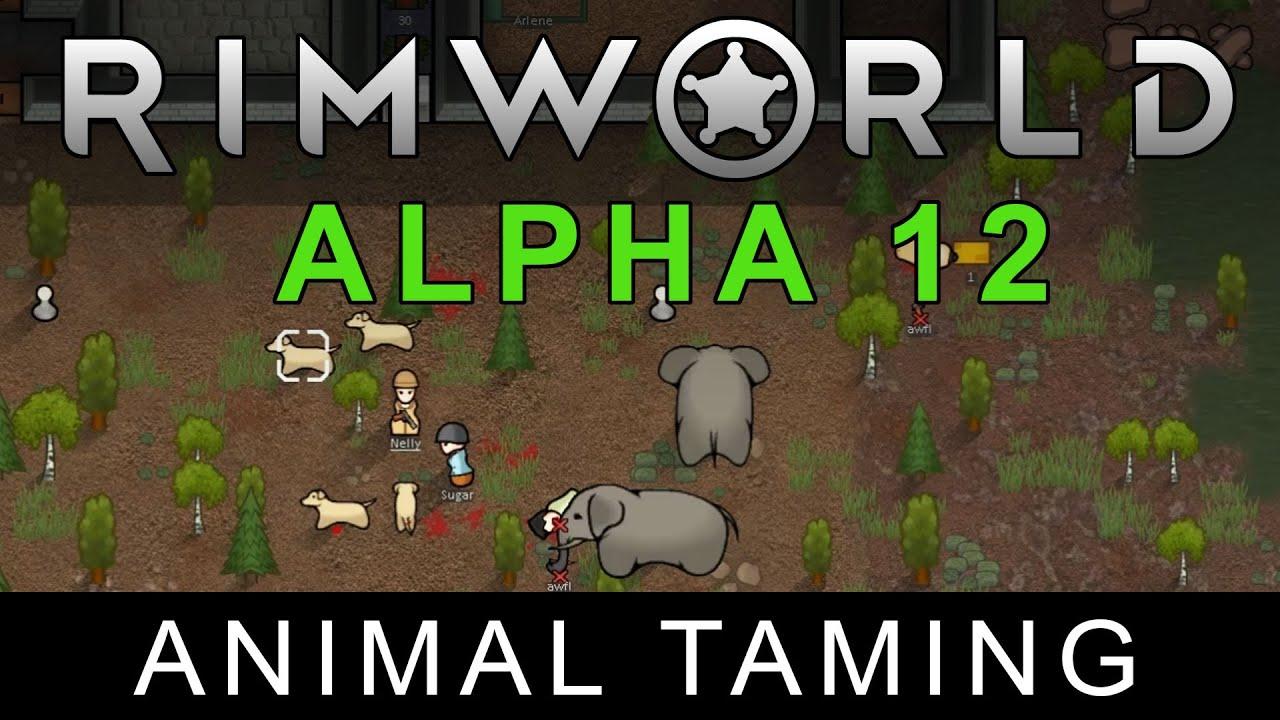 Ludeon Studios − RimWorld Alpha 12 – Animal Taming released
