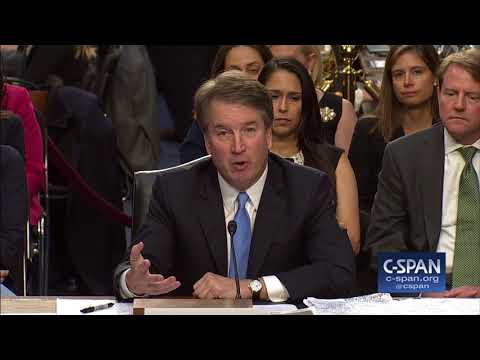 Judge Kavanaugh on Cameras in the Supreme Court (C-SPAN)