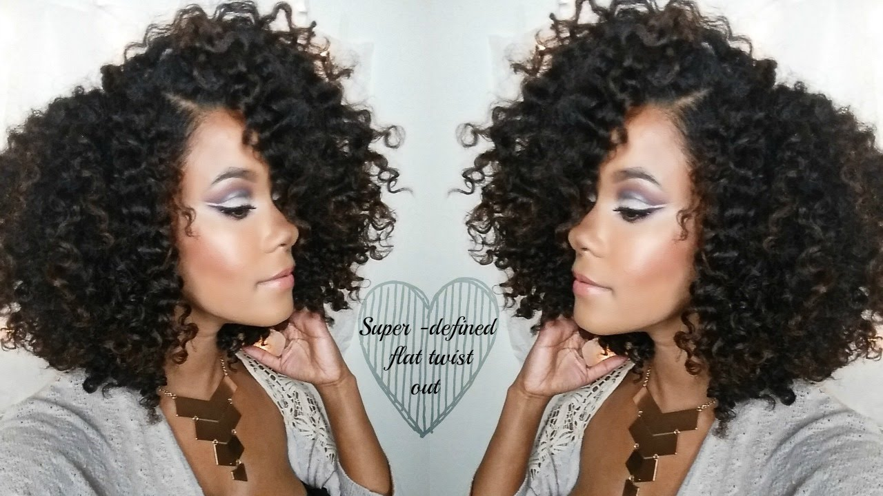 braid out styles on hair hair defined flat twist out routine with volume 3184