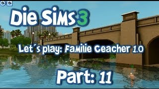 Let´s play Die Sims 3 / Familie Ceacher 1.0 ◊ Part 11 - Schwimmen in Roaring Heights (DE|HD)