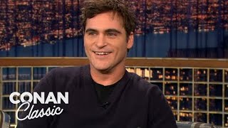 "Joaquin Phoenix On Meeting Johnny Cash - ""Late Night With Conan O'Brien"""