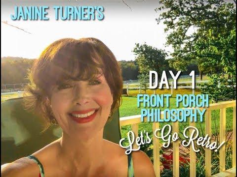 Janine Turner's Front Porch Philosophy Premiere