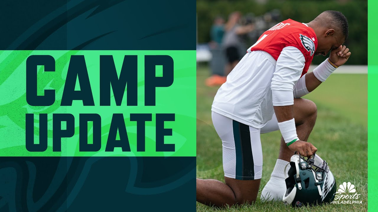Eagles training camp 2021: 10 players to watch in 1st preseason ...