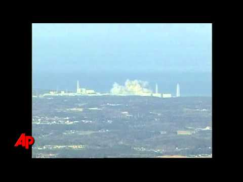 Raw Video: Smoke Pours From Japan Nuclear Plant