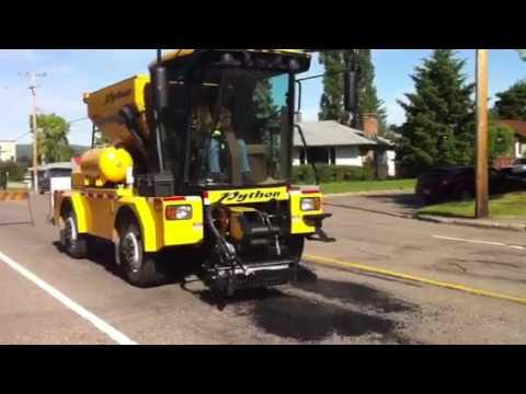 Python 5000 Pothole Patching Machine