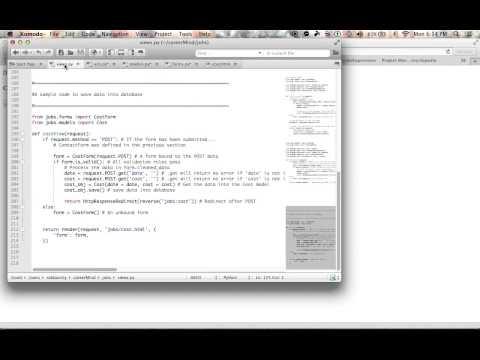 Django: Saving Form Data into Database