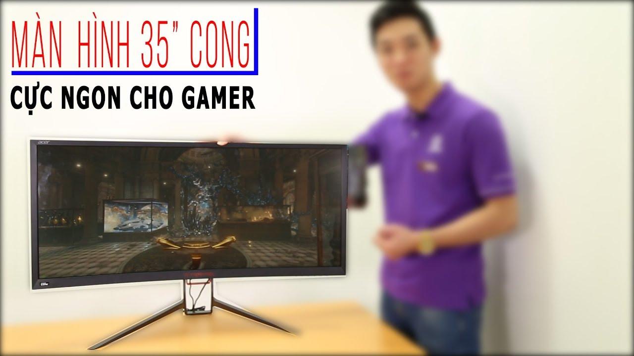 Review màn hình ACER Z35 Cong cớn dành cho Game thủ| ANPHATCOMPUTER