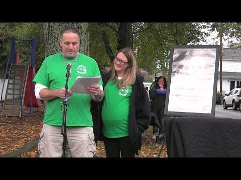 Ariella Hopkins Little Park Dedication
