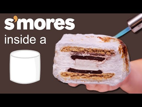 S'MORES & ICE CREAM INSIDE A MARSHMALLOW ???????? VERSUS