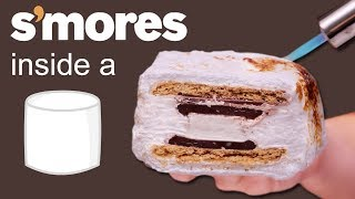 S'MORES INSIDE A MARSHMALLOW 🍫 VERSUS