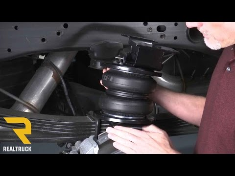 How to Install Air Lift LoadLifter Air Bag Kits on a 2017 Silverado 2500 HD