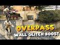 CS:GO - Overpass Wall Glitch Boost - Peek Toilets and Short A LIKE A BOSS!