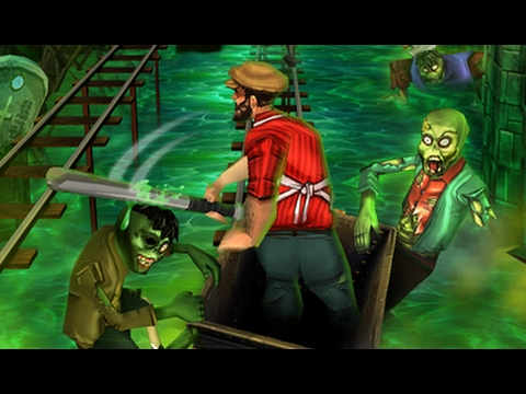 Rail Rush Game - Bob Molechaser Endless Racing in Zombie Cave