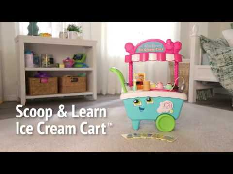 LeapFrog Scoop & Learn Ice Cream Cart Demo Video