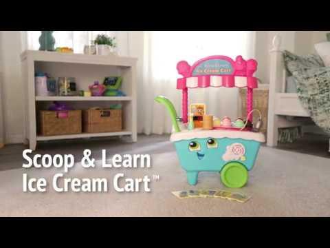 LeapFrog Scoop & Learn Ice Cream Cart Demo Video