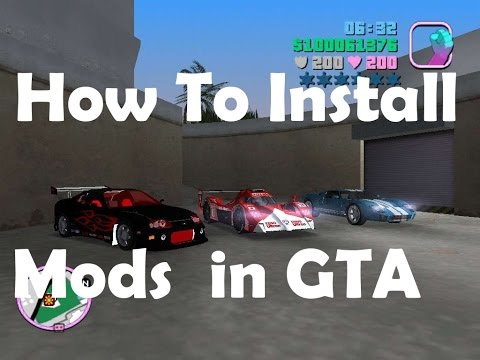 HOW to Install Any GTA Vice City Mod in Your PC