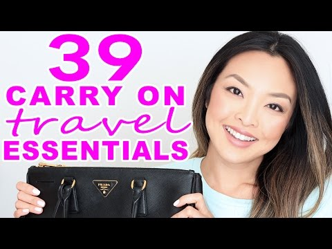 39 Carry On Travel Essentials I Can