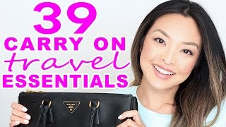39 Carry On Travel Essentials I Can't Fly Without!