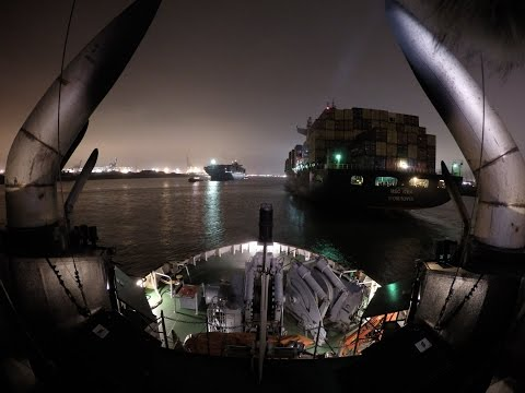 Tugboat 7200hp Assisting MSC Itea