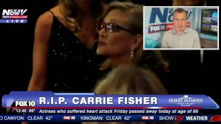 WE REMEMBER: A Message To Carrie Fisher And Her Beloved Fans