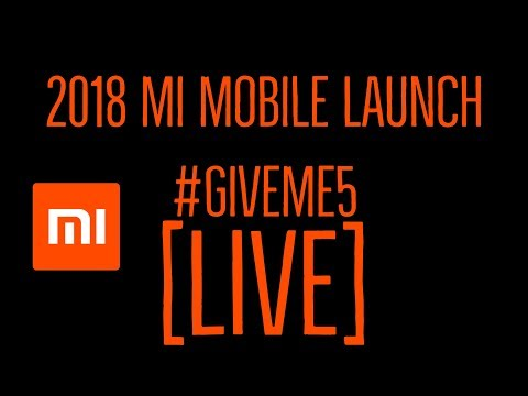 Mi Launch Event Live | Xiaomi Mi Redmi Event Live Streaming Product Launch Begins @56:22