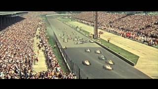 Paul Newman's Winning - 1966 Indy 500 Crash Footage