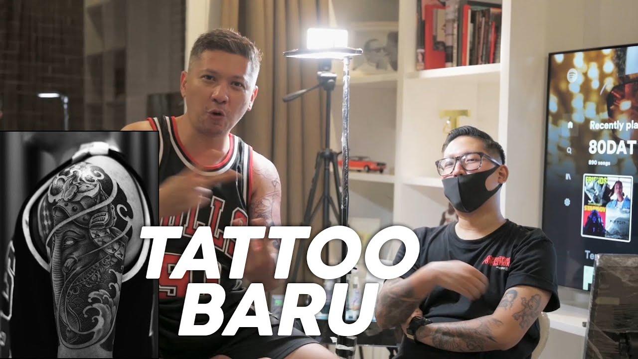 TATTOO BARU 9 JAM, SAKIT PAS BAYARNYA!!!