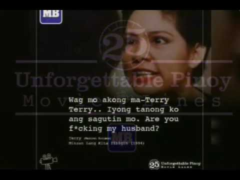 25 UNFORGETTABLE PINOY MOVIE LINES - YouTube