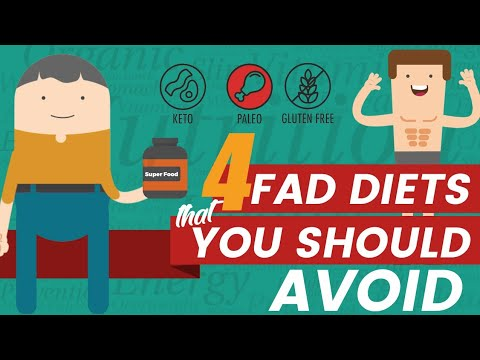 4 Fad diets you should avoid | How to Lose Weight Fast | Top Diet tips
