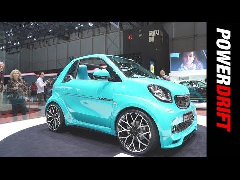 Brabus at Geneva Motor Show : PowerDrift